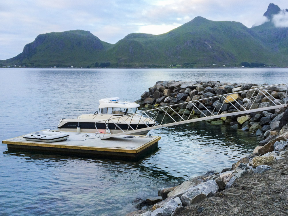Privat Hyttebrygge i Lofoten