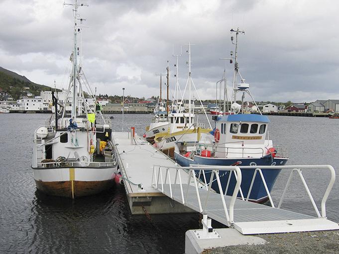 Helgelandsbrygge med fribord